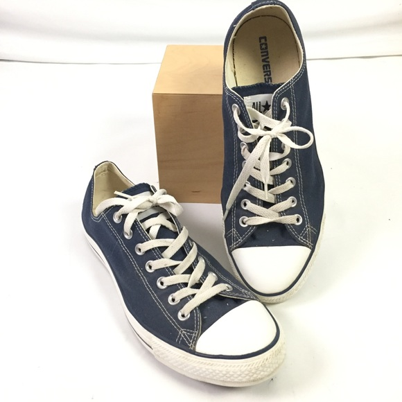 813a445c1715 Converse Other - Converse Chuck Taylor All Stars Low Top Blue M9697
